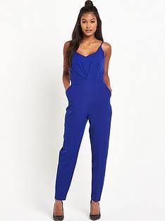 warehouse-warehouse-plunge-jumpsuit