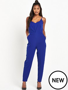 warehouse-warehouse-plunge-jumpsuit