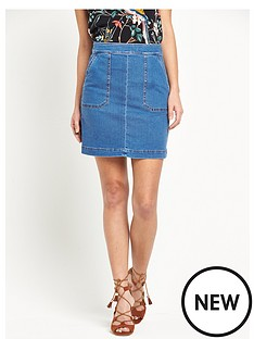 warehouse-pocket-detail-denim-skirt