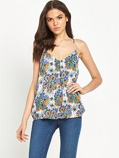 warehouse-warehouse-80s-tile-cami-top