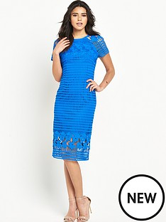 warehouse-grid-lace-dress