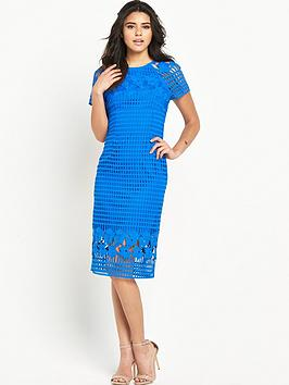 warehouse-grid-lace-dress