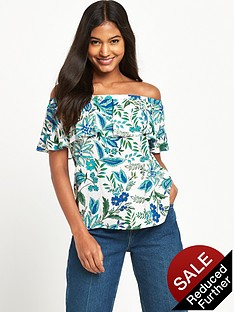 warehouse-botanical-drawn-floral-top