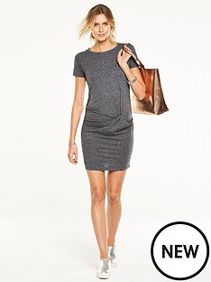 v-by-very-ss-knot-front-jersey-dress