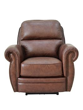 Ripon Premium Leather Recliner Armchair