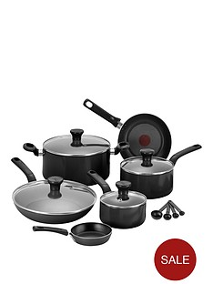 tefal-excite-7-piece-aluminium-pan-set-in-black