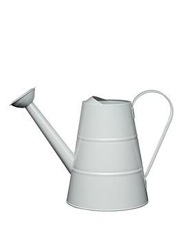 living-nostalgia-23-litre-steel-watering-can-in-grey