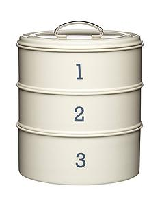 living-nostalgia-3-tier-steel-cake-tin-in-cream