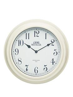 kitchencraft-255cm-wall-clock-cream