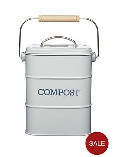 living-nostalgia-living-nostalgia-3-litre-steel-compost-bin