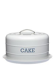 living-nostalgia-living-nostalgia-airtight-domed-cake-tin-285x18cm