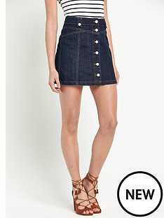 v-by-very-high-waisted-button-through-mini-skirt