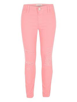river-island-girls-pink-molly-distressed-jeggings