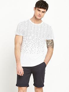 bellfield-bellfield-geo-print-tshirt