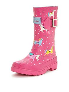joules-junior-girls-pony-welly