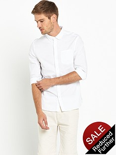 bellfield-bellfield-plain-oxford-shirt