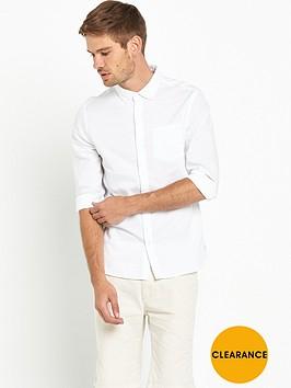 bellfield-plain-oxford-shirt