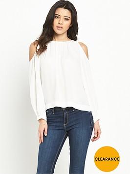 vero-moda-frida-button-cold-shoulder-topnbsp