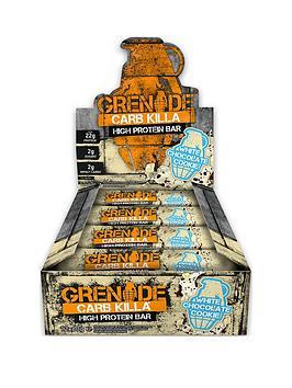 GRENADE Grenade Carb Killa 12 X 60G Bars White Chocolate Picture