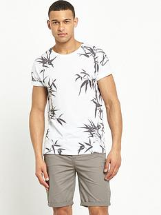 river-island-bamboo-print-short-sleeve-t-shirt