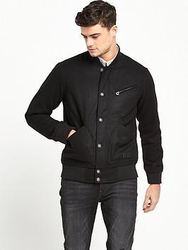 lee-wool-bomber-jacket-black