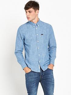 lee-chambray-button-down-shirt