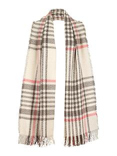 v-by-very-bobble-abstract-check-blanket-scarf
