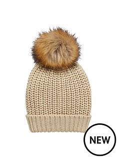 v-by-very-chunky-cable-knit-pom-pom-beanienbsp