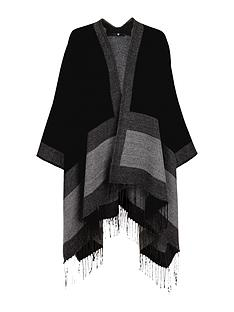 v-by-very-tonal-border-reversible-cape