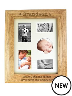 personalised-grandson-wooden-photo-frame
