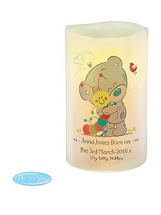 me-to-you-personalised-tiny-tatty-teddy-led-candle