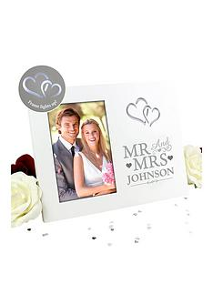 personalised-mr-amp-mrs-light-up-photo-frame