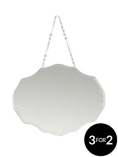 small-oval-decorative-mirror