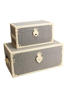 set-of-2-plain-storage-trunks-natural