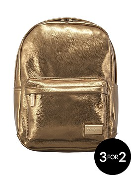 redland-pantone-pu-metallic-backpack-gold