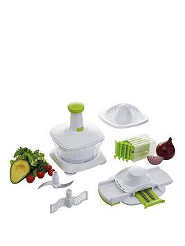 Kitchen Craft Healthy Eating &Ndash FiveInOne Manual Food Processor