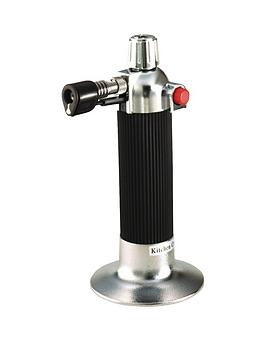 Kitchencraft Kitchencraft Cook&Rsquo;S Blowtorch With Chrome Fittings Picture