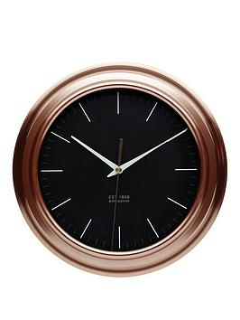 kitchencraft-copper-finish-clock
