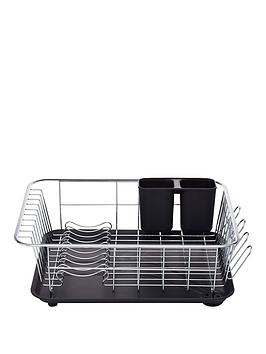 Kitchen Craft Kitchen Craft Dish Drainer With Drip Tray 42X30.5X15Cm