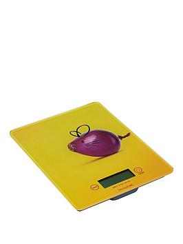 Kitchen Craft Kitchen Craft Electronic Add N Weigh Platform Scales 5Kg (11Lbs) Mouse Design