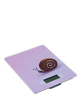 Kitchen Craft Kitchen Craft Electronic Add N Weigh Platform Scales 5Kg (11Lbs) Snail Design