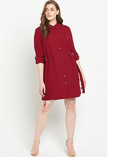 lovedrobe-lovedrobe-belted-shirt-dress