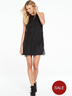 v-by-very-fringe-halterneck-dress