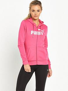 puma-essential-no1-full-zip-hoodie-pink