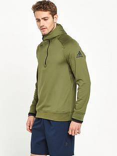 adidas-climaheat-half-zip-hoodie