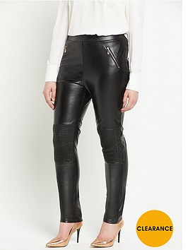 lovedrobe-faux-leather-wet-look-skinny-trouser-with-zips