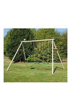 tp-triple-round-wood-swing-set