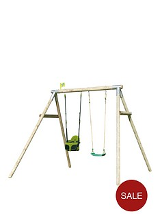 tp-double-round-wood-swing-set