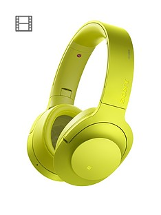 sony-mdr-100abn-hear-on-wireless-headphones-lime