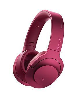 Sony Mdr100Abn H.Ear On Wireless Headphones  Pink